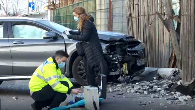 Soferita din Bucuresti care a ucis doua fete pe trotuar