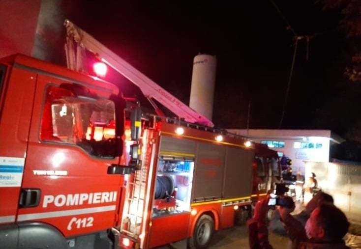 """Incendiu la Spital : Institutul """"Matei Balș"""" din Capitala"""