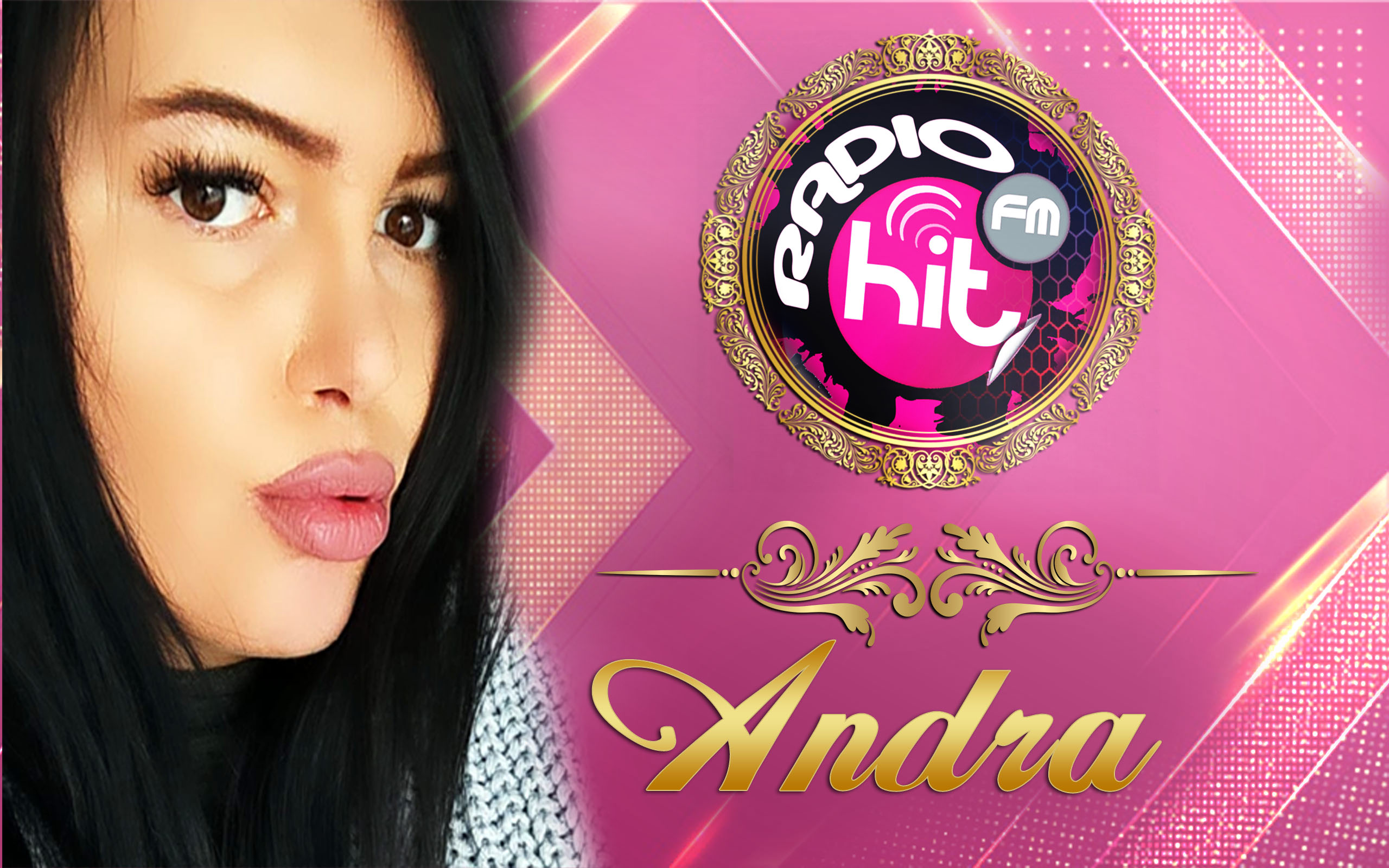 Andra - Moderator Online pe Radio HiT FM Romania